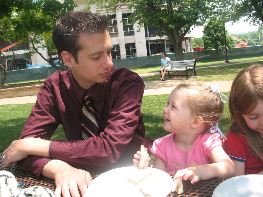Eating Lunch in the Park