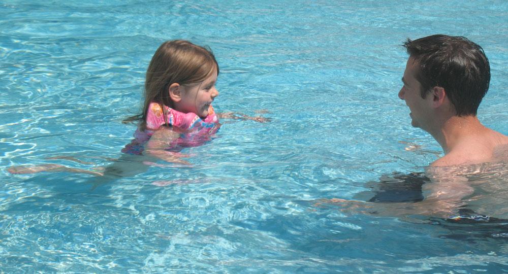 Naomi Swimming