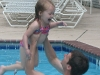 Rachel and Daddy Swimming